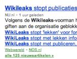 """WikiLeaks """"stopt"""", zeggen de meeste media"""