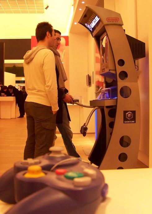 De tentoonstelling Game Story in Parijs. (Foto Peter Teffer)