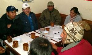 De vergadering van Jaqi Aru in El Alto (Foto Peter Teffer)