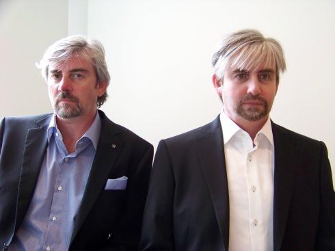 Henrik Scharfe en Geminoid-DK
