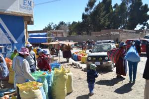 De markt in Challapata.