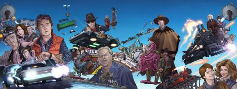 Op 21 oktober verschijnt deel 1 van Back to the Future, de strip.