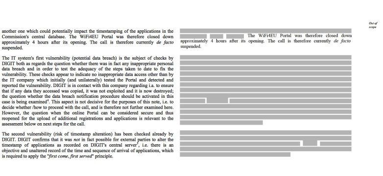 Left: original text. Right: the redacted text